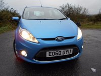 USED 2010 60 FORD FIESTA 1.6 ZETEC TDCI 5d 94 BHP  ** £20 ROAD TAX , TURBO DIESEL ECONOMY **