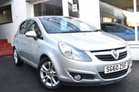 USED 2010 60 VAUXHALL CORSA 1.2 SXI 5d 83 BHP LOVELY LOW MILEAGE 5 DOOR CORSA