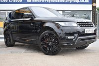 USED 2015 65 LAND ROVER RANGE ROVER SPORT 4.4 AUTOBIOGRAPHY DYNAMIC 5d AUTO 339 BHP THE CAR FINANCE SPECIALIST