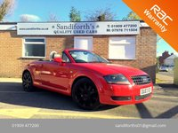 "2003 AUDI TT 1.8 ROADSTER 2d 148 BHP 18"" ALLOYS, LEATHER,FSH £3390.00"