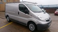 USED 2011 61 VAUXHALL VIVARO 2.0 2700 CDTI 1d 113 BHP 1 OWNER F/S/H X ALD AUTOMOTIVE