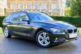 2013 BMW 3 SERIES 2.0 318D SPORT TOURING 5d 141 BHP £8490.00