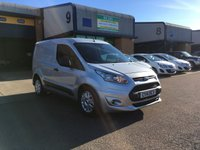 USED 2014 14 FORD TRANSIT CONNECT 1.6 200 TREND P/V 1d 74 BHP FSH, A/C, BLUETOOTH, 3 SEATS, 6 MONTH WARRANTY & FINANCE ARRANGED. FSH, A/C, Bluetooth, 3 Seats, Radio, Drivers airbag, Factory fitted bulk head, Side loading door, Metallic silver, Very Good Condition, 1 Owner, remote Central Locking, Drivers Airbag, CD Player/FM Radio, Steering Column Radio Control, heated screen, Barn Rear Doors. Supplied with 6 months premium Autoguard warranty & finance arranged on site.