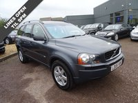 USED 2006 06 VOLVO XC90 2.4 D5 SE 5d AUTO 183 BHP 8 SERVICE STAMPS 1 FORMER KEEPER TWO KEYS  £2515 factory fitted optional extras