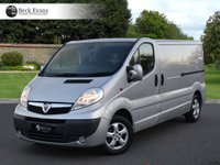 USED 2014 14 VAUXHALL VIVARO 2.0 2900 CDTI SPORTIVE LWB 1d 113 BHP AIR CON REAR PARKING PLY LINED