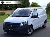 USED 2015 65 MERCEDES-BENZ VITO 1.6 109 CDI 1d 88 BHP NEW SHAPE PLY LINED PLY LINED CHOICE OF VANS