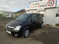 USED 2010 10 VAUXHALL MERIVA 1.6 DESIGN 16V 5d AUTO 100 BHP £25 PER WEEK OVER 3 YEARS, SEE FINANCE LINK BELOW