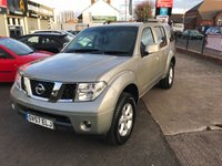 USED 2007 57 NISSAN PATHFINDER 2.5 SPORT DCI 5d 169 BHP 7 Seater-Full Service History-Reversing Camera-Bluetooth