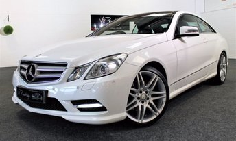 2013 MERCEDES-BENZ E CLASS 3.0 E350 CDI BLUEEFFICIENCY SPORT 2d AUTO 265 BHP £SOLD
