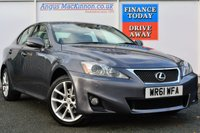 USED 2012 61 LEXUS IS 2.2 200D ADVANCE 4d 148 BHP FULL SERVICE HISTORY