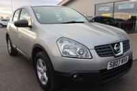 USED 2007 07 NISSAN QASHQAI 1.6 ACENTA 5d 113 BHP LOW DEPOSIT OR NO DEPOSIT FINANCE AVAILABLE.