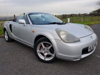 2003 TOYOTA MR2 1.8 ROADSTER 2d FULL LEATHER £1750.00