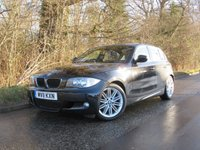 USED 2011 11 BMW 1 SERIES 2.0 118D M SPORT 5d 141 BHP