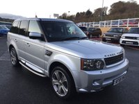 USED 2009 59 LAND ROVER RANGE ROVER SPORT 3.0 TDV6 HSE 5d 245 BHP 2010 facelift model with 360 Surround View Cameras, 20 inch & side steps