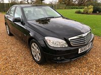 2010 MERCEDES-BENZ C CLASS 1.8 C180 CGI BLUEEFFICIENCY SE 4d AUTO 156 BHP £9500.00