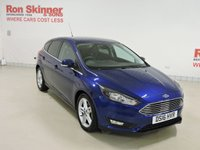 USED 2016 16 FORD FOCUS 1.0 ZETEC 5d 124 BHP with Appearance Pack