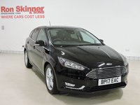 USED 2017 17 FORD FOCUS 1.0 TITANIUM 5d 124 BHP with SYNC3 Navigation + Appearance Pack