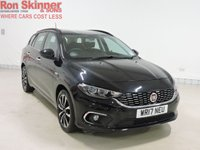 USED 2017 17 FIAT TIPO 1.6 MULTIJET LOUNGE 5d 118 BHP
