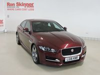 USED 2016 16 JAGUAR XE 2.0 R-SPORT 4d 178 BHP with Parking Pack