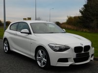 USED 2014 14 BMW 1 SERIES 2.0 118D M SPORT 3d 141 BHP DAB RADIO, BLUETOOTH, 1 OWNER