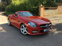 2011 MERCEDES-BENZ SLK 1.8 SLK200 BLUEEFFICIENCY AMG SPORT ED125 2d AUTO 184 BHP PLEASE CALL TO VIEW £SOLD
