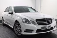 USED 2013 62 MERCEDES-BENZ E CLASS 2.1 E220 CDI BLUEEFFICIENCY S/S SPORT 4d AUTO 170 BHP