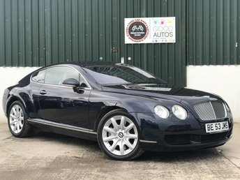 2004 BENTLEY CONTINENTAL 6.0 GT 2d AUTO 550 BHP £24995.00