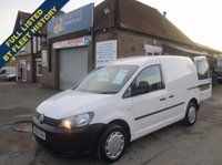 2012 VOLKSWAGEN CADDY C20 TDI WITH FULL HISTORY DIRECT FROM BT  £4545.00