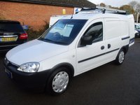 USED 2007 57 VAUXHALL COMBO 2000 1.3 CDTi ONLY 43,000 MILES FROM BT WITH HISTORY