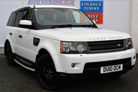 USED 2010 LAND ROVER RANGE ROVER SPORT 3.0 TDV6 HSE 5d 245 BHP ONLY TWO FORMER KEEPERS