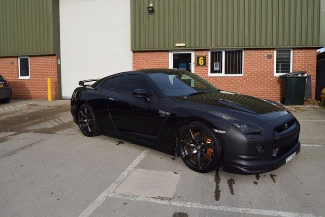 2009 NISSAN GT-R 3.8 BLACK EDITION 2d AUTO 479 BHP