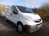 USED 2012 12 VAUXHALL VIVARO 2.0 2900 CDTI 1d 89 BHP ONE OWNER - DIRECT LEASE COMPANY