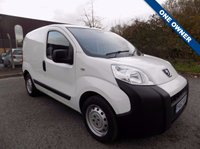 USED 2013 63 PEUGEOT BIPPER 1.2 HDI S 1d 75 BHP 1 OWNER - SERVICE HISTORY
