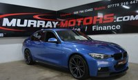 USED 2015 BMW 3 SERIES 2.0 318D M SPORT *FULLY KITTED*HEATED FRONT SEATS*