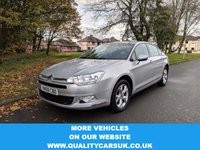 USED 2008 58 CITROEN C5 2.0 VTR PLUS HDI 4d 138 BHP