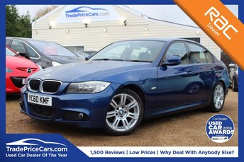 2010 BMW 3 SERIES 2.0 318D M SPORT 4d 141 BHP £8750.00