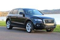 2012 AUDI Q5 2.0 TDI QUATTRO S LINE+ PLUS  168 BHP £16750.00