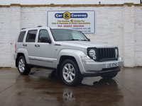 USED 2010 JEEP CHEROKEE 2.8 LIMITED 5d AUTO 175 BHP Full History Heated Seats A/C 0% Deposit Finance Available