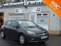 USED 2013 13 VAUXHALL ASTRA 1.4 EXCLUSIV 5d 98 BHP Cruise control , Speed limiter ,Air Con