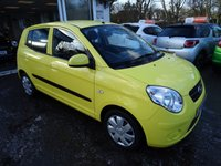 USED 2009 59 KIA PICANTO 1.1 STRIKE 5d 64 BHP Very Low Mileage, One Lady Owner from new, Comprehensive Service History + Just Serviced by ourselves, MOT until December 2018 (no advisories), Great on fuel economy! Only £30 Road Tax!