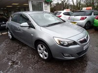 USED 2011 61 VAUXHALL ASTRA 1.4 SRI 5d 98 BHP Low Mileage, Comprehensive Service History + Just Serviced by ourselves, MOT until December 2018 (no advisories)