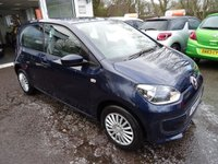 USED 2013 13 VOLKSWAGEN UP 1.0 MOVE UP 5d 59 BHP Low Mileage, MOT until June 2018, Just Serviced by ourselves, One Previous Owner, Excellent on fuel economy! Only £20 Road Tax! Lowest Insurance Group!