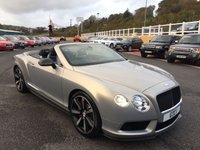 USED 2014 14 BENTLEY CONTINENTAL 4.0 GT V8 S 2d 521 BHP Extreme Silver Paint & Carbon Aero-kit, many thousands in options.