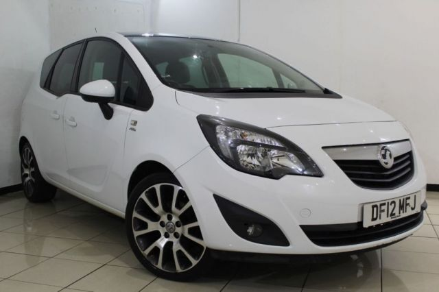 View our 2012 12 VAUXHALL MERIVA 1.4 ACTIVE LIMITED EDITION 5DR 99 BHP