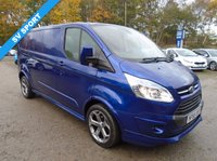 2015 FORD TRANSIT CUSTOM 2.2 290 LIMITED LR P/V 1d 153 BHP £17995.00