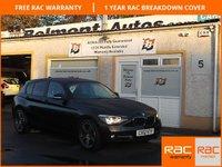 USED 2012 12 BMW 1 SERIES 2.0 116D SPORT 5d 114 BHP Dakota Leather ,Bluetooth ,Parking sensors