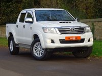 USED 2012 61 TOYOTA HILUX 3.0 D-4D Invincible Crewcab Pickup 4dr 1 OWNER LOW MILES NO VAT