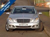 2008 MERCEDES-BENZ E CLASS 3.0 E280 CDI AVANTGARDE 4d 187 BHP £5845.00