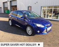 USED 2014 14 FORD FOCUS 1.6 TDCI ZETEC NAVIGATOR 115 BHP THIS VEHICLE IS AT SITE 1 - TO VIEW CALL US ON 01903 892224