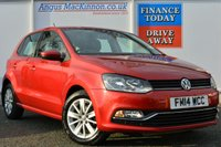 USED 2014 14 VOLKSWAGEN POLO 1.2 SE TSI 5d 89 BHP **ONE FORMER KEEPER**
